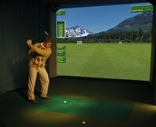 High Definition golf Simulator